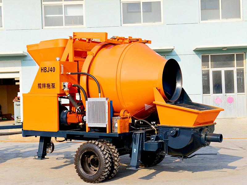 wet mini concrete pump