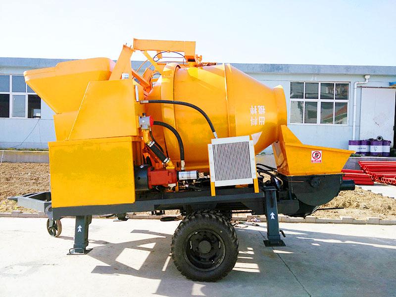 mobile mini concrete pump